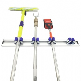 mop and broom rack